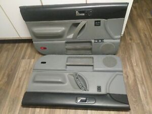 1998 2010 Vw Beetle Door Panels Black And Gray Nice Driver Passenger Power