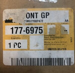 New Caterpillar 177 6975 Control Group 10r 8129 1776975 10r8129 G3600