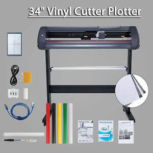 870mm Sign Sticker Vinyl Cutter With Software 34 Vinyl Cutting Plotter Machine