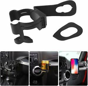 Drink Cup Phone Holder 2 In 1 Bolt on Stand Bracket Organizer For Jeep Jk 2012