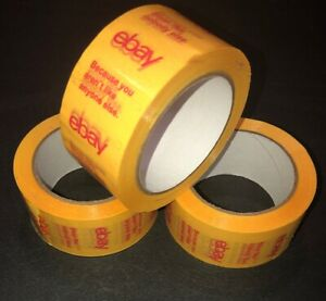 3x Fill Your Cart With Color Ebay Shipping Packing Tape Yellow Ltd Edit 2018
