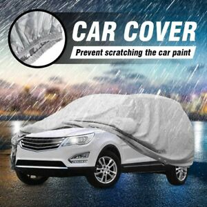 Waterproof Full Car Suv Cover Outdoor Uv Snow Dust Rain Resistant Protection Us