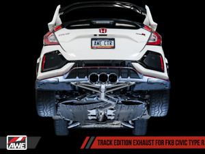 Awe Exhaust For Honda Civic Type r Ctr 2 0l Turbo 2 0t Fk8 Track Catback System