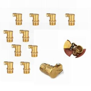 Brass Grease Oil Cup Oiler Spring Flip Cap Fit For Hit Miss Engine 20pcs