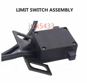 1 Set Mill Machines Parts Limit Switch Assembly Servo Power Feed Type 4 Wires