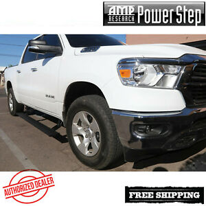Amp Research Powerstep Plug Play Electric Running Boards 2019 2020 Ram 1500