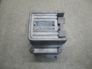 Square d Start stop Explosion Proof Control Station 12161003hw Nos