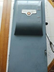 Used Westinghouse Safety Switch Cat No Df323 1 Amps 100 Vintage