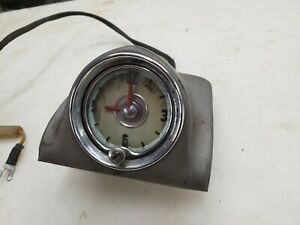 1949 1950 Oldsmobile Dash Clock Assembly 88 98 76 Gm Rat Rod Rocket Supper 88