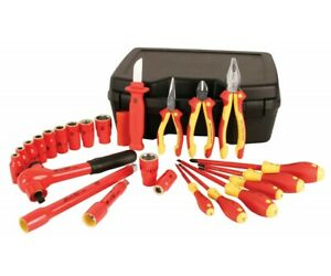 Wiha Tools 31691 1 2 Drive 1000v Insulated 24 Piece Metric Set New 820 Retail