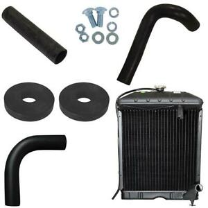 Nca8005 Radiator With Hoses pads bolts Fits Ford 801 901 2000 4000 Naa 600
