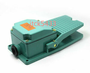 New 1pc 250v 15a Spdt Antislip Industrial Foot Operated Pedal Switch Footswitch