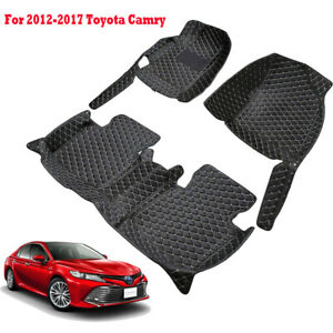 Car Floor Mats All Weather Floor Protector Cover For 2012 2017 Toyota Camry Us