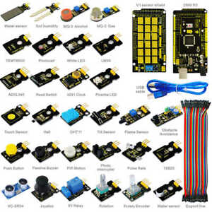 Keyestudio 30pcs Electronic Components Kit Programming Module Set For Arduino
