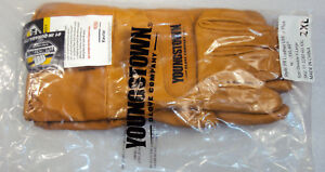 Youngstown Fr Hrc3 Waterproof Leather Utility Plus Work Gloves Size 2xl Kevlar