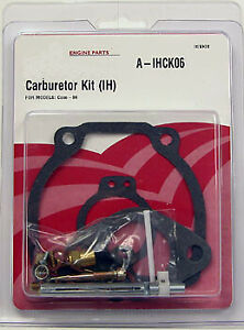 Complete Carb Kit With Carburetor For Farmall Super H 358065r91