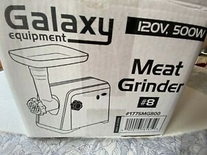 Galaxy 8 Electric Meat Grinder 120 Volt New Open Box