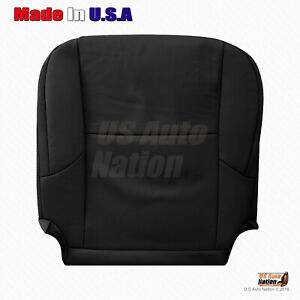 Fits 2012 2013 Lexus Gx460 Driver Bottom Perforated Leather Seat Cover In Black