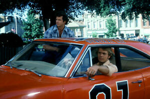 Dukes Of Hazzard General Lee Cast 18x24 Poster $23.99
