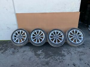 Ford Mustang Gt 2015 2020 Oem Rims Wheels Tires 19 Set 61k