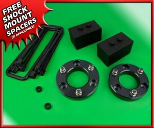 Fits 2004 2020 Ford F150 Full 2 Front 2 Rear Level Kit 2wd 4wd Blk Lift Kit