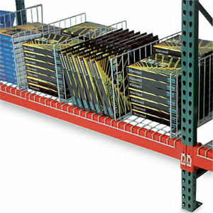 Pallet Rack Wire Deck Divider 34 d X 15 h 1 Each