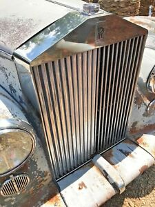 1954 Silver Dawn Rolls Royce Grill Parting Out Worlds Largest Used Inventory