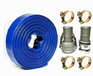 Sigma 2 Inch X 50 Feet Agricultural Pvc Lay Flat Discharge Pump Hose