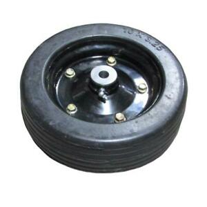 10 x 3 25 Finish Mower Wheel solid Molded Tire Fits 5 8 Axle Befco 000 6923y