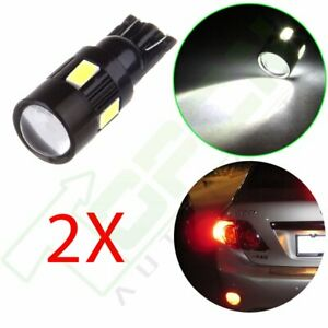 2x Projector High Power Cree White 921 158 T10 Led Parking Lights Bulbs 6000k