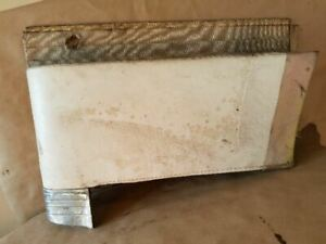 1957 Lincoln Premiere Passenger Side Rear Trim Panel 2dr