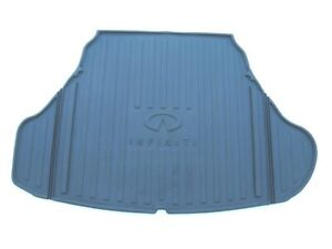 14 15 16 17 Infiniti Q50 Trunk Cargo Cover Rubber All Weather Mat Rug Used 4