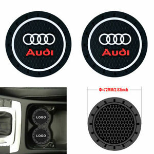 Coaster 2pc 2 75 Silicone Car Cup Holder Auto Insert For Audi Us Seller