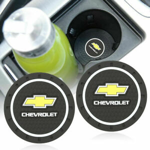 Coaster 2pc 2 75 Silicone Car Cup Holder Auto Insert For Chevrolet Us Seller