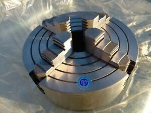 Hd Precision 4 jaw X 8 200mm Independent Metal Lathe Chuck New
