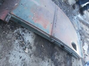 1939 1940 1941 Ford Sedan Delivery Patch Panel Drivers Door Post Fuel Filler