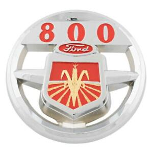 Nda16600a Hood Emblem For Ford New Holland Tractor 800