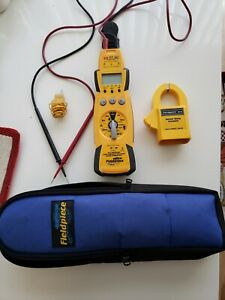 Fieldpiece Hs33 Expandable Manual Ranging Stick Multimeter For Hvac r With Case