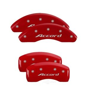 Mgp 4 Caliper Covers Mgp20207saccrd Red Engraved Front Rear For 13 17 Accord