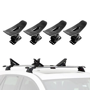 2 Pairs Kayak Roof Rack Universal Canoe Boat Car For Suv Truck Top Mount Carrier