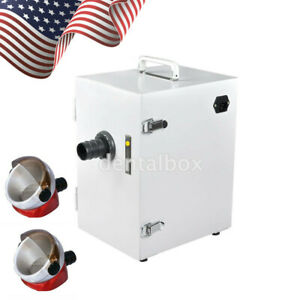 Ups Dental Lab Digital Single row Dust Collector Vacuum Cleaner Suction Base
