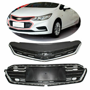 Front Bumper Upper Grill Middle Lower Grille For Chevrolet Cruze 2016 2018 2017