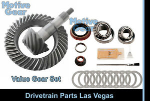 Motive Black Ford 8 8 10 Bolt 4 56 Ring And Pinion Gear Set Pinion Install Kit