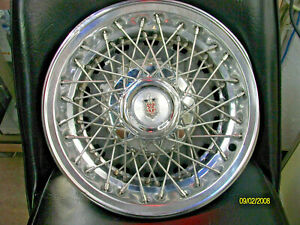Lot Of 4 1978 To 1980 Chevy Monte Carlo Wire Spoke 14 Inch Hubcaps Wheel Covers