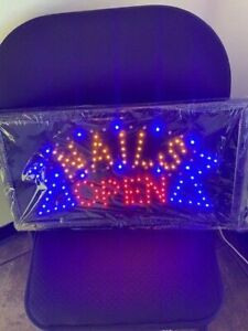 Led Nails Open Sign