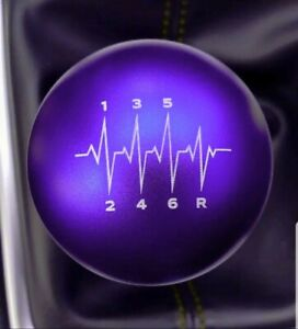 Ssco Purple For Wrx Sti Heartbeat Sr 190 Grams Weighted Shift Knob 12x1 25mm