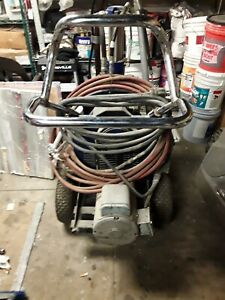 Graco Gh833 Hydraulic 220 Airless Paint Sprayer Roof