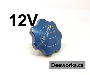 Anodized Billet Oil Cap For Dodge Cummins 5 9 6bt12v Free Usa Shipping Blue