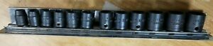 Cornwell Tools 3 8 Dr 12 Pc Metric Socket Set 12 Point