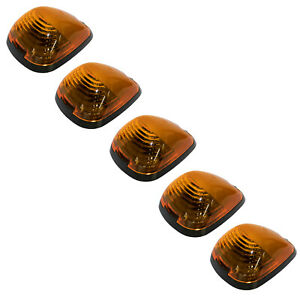 New Oem 1999 2016 Ford Super Duty Cab Marker Roof Running Clearance Lights Set 5